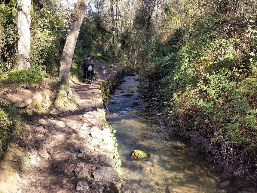 Wanderung Rio Majaceite - Verlauf